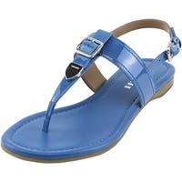 Coach Womens Cassidy Open Toe Casual T-Strap Sandals