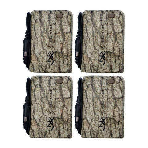 """Browning Trail Cameras External Battery Power Pack (4-Pack) - 5.5"""" x 4.25"""" x 2.5"""""""