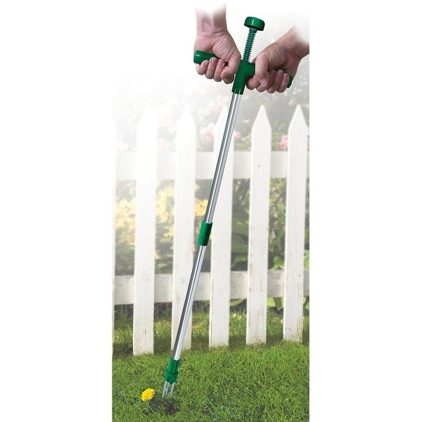 No Bend Weed Puller -Easy Reach Remover Tool