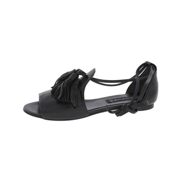 Steven By Steve Madden Womens Sherrrie Flat Sandals Open Toe Loafer