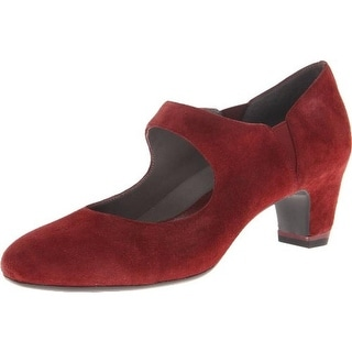 Oh! Womens Hillary Suede Pumps Mary Jane Heels - 37