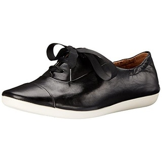 Clarks Womens Feature Show Leather Casual Oxfords - 8 medium (b,m)