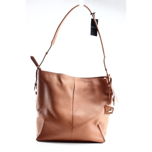 c596a4e9809 Shop Botkier NEW Brown Honey Pebble Leather Soho Hobo Shoulder Bag ...