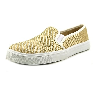Dolce Vita Saraya Women Canvas Gold Fashion Sneakers