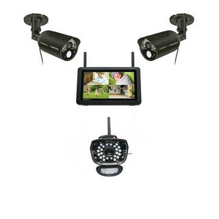 Uniden UDR777HD Kit 7 HD Wireless Security System w/ Live Video on Your Smartphone/ PC