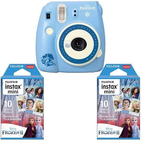 Fujifilm instax Mini 9 Instant Camera (Disney Frozen 2) +instax Film