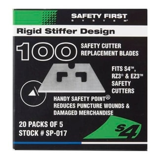 Pacific Handy Cutter SP-017 Safety Point Replacement Blades