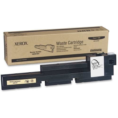 Xerox 106R01081 Xerox Waste Toner Cartridge For Phaser 7400 Printer - Black - Laser - 30000 Page