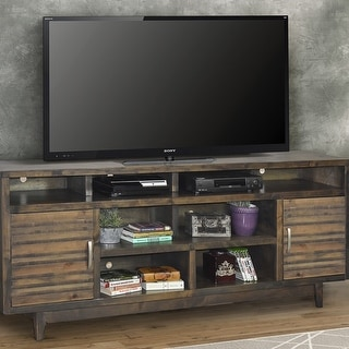 Link to Carbon Loft Solling Charcoal Wood 84-inch TV Console Similar Items in TV Stands & Entertainment Centers