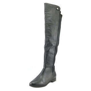 Chinese Laundry Robin Round Toe Leather Over the Knee Boot