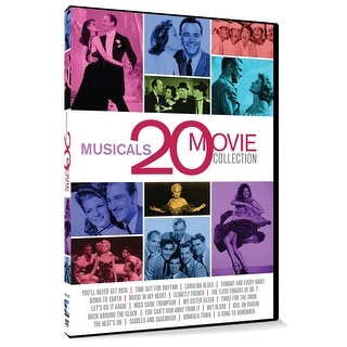 20 Movie Musicals Collection - 20 Classic Films Over 5 Dvds