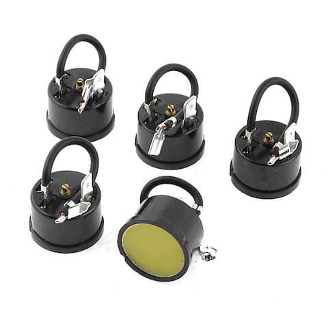 Fridge Compressor 1/3P Overload Protector Thermal Protective Starter 5Pcs
