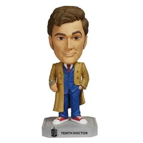 Doctor Who Funko Wacky Wobbler Bobble Head Tenth Doctor - multi
