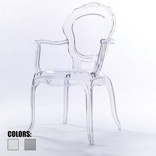 2xhome -Clear Plastic Dining Chairs Modern Design Home Designer Chair Acylic
