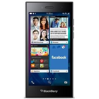 BlackBerry Leap STR100-2 16GB Unlocked GSM 4G LTE Phone w/ 8MP Camera - Shadow Grey (Certified Refurbished) - Shadow Grey