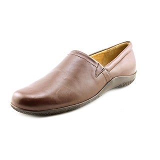 Walking Cradles Destiny Women Round Toe Leather Brown Loafer