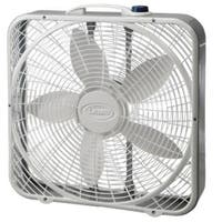 Lasko Products 3721 20 Inch 3-Speed Weather Shield Performance Power Plus Box Fan