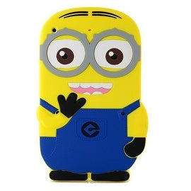 3D Cartoon Despicable Me Minion Soft Silicone Rubber Case Cover Skin iPad Mini