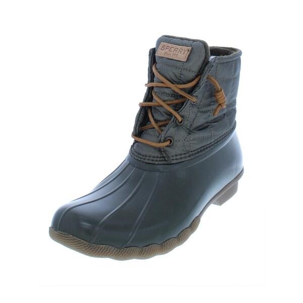 328a47b9ce41 Shop Sperry Womens Saltwater Rain Boots Waterproof Duck - Free ...