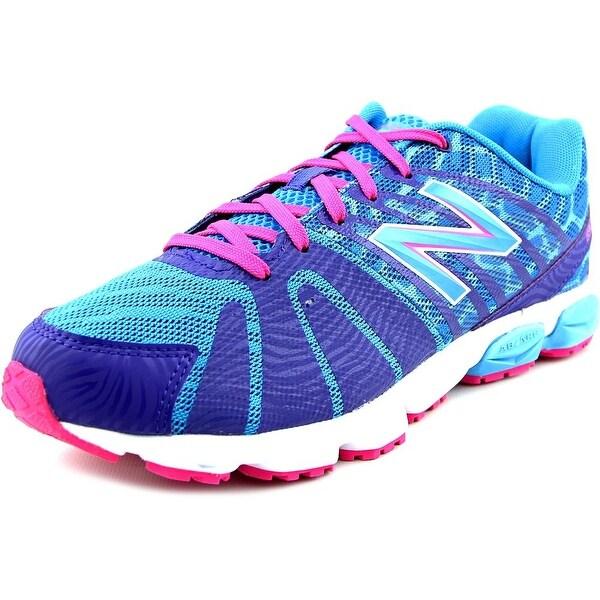 New Balance KJ890 Youth W Round Toe Synthetic Blue Running Shoe