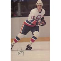 Signed Bossy Mike New York Islanders 7x10 12 Magazine Page autographed