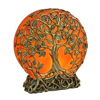 Link to Orange Druid Tree of Life Plug-In Night Light Statue - 6.25 X 5.75 X 2 inches Similar Items in Billiards & Pool