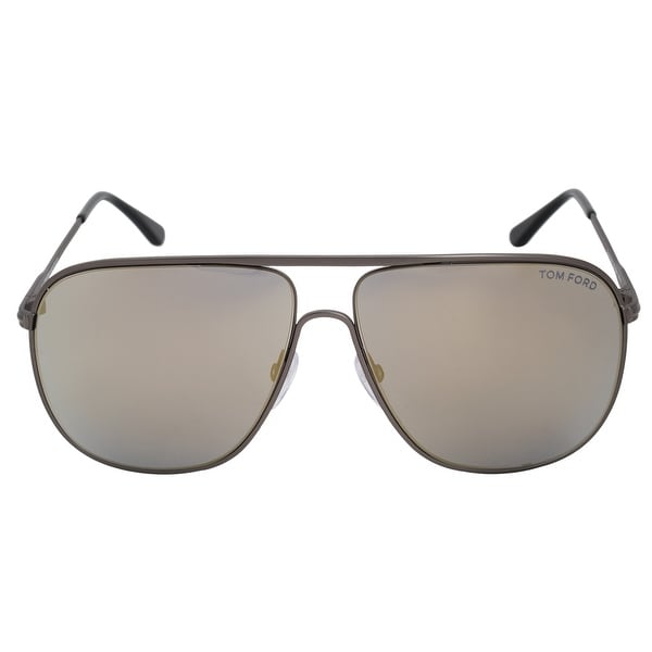138d71639a Shop Tom Ford Dominic Aviator Sunglasses FT0451 09C 60 - Free ...