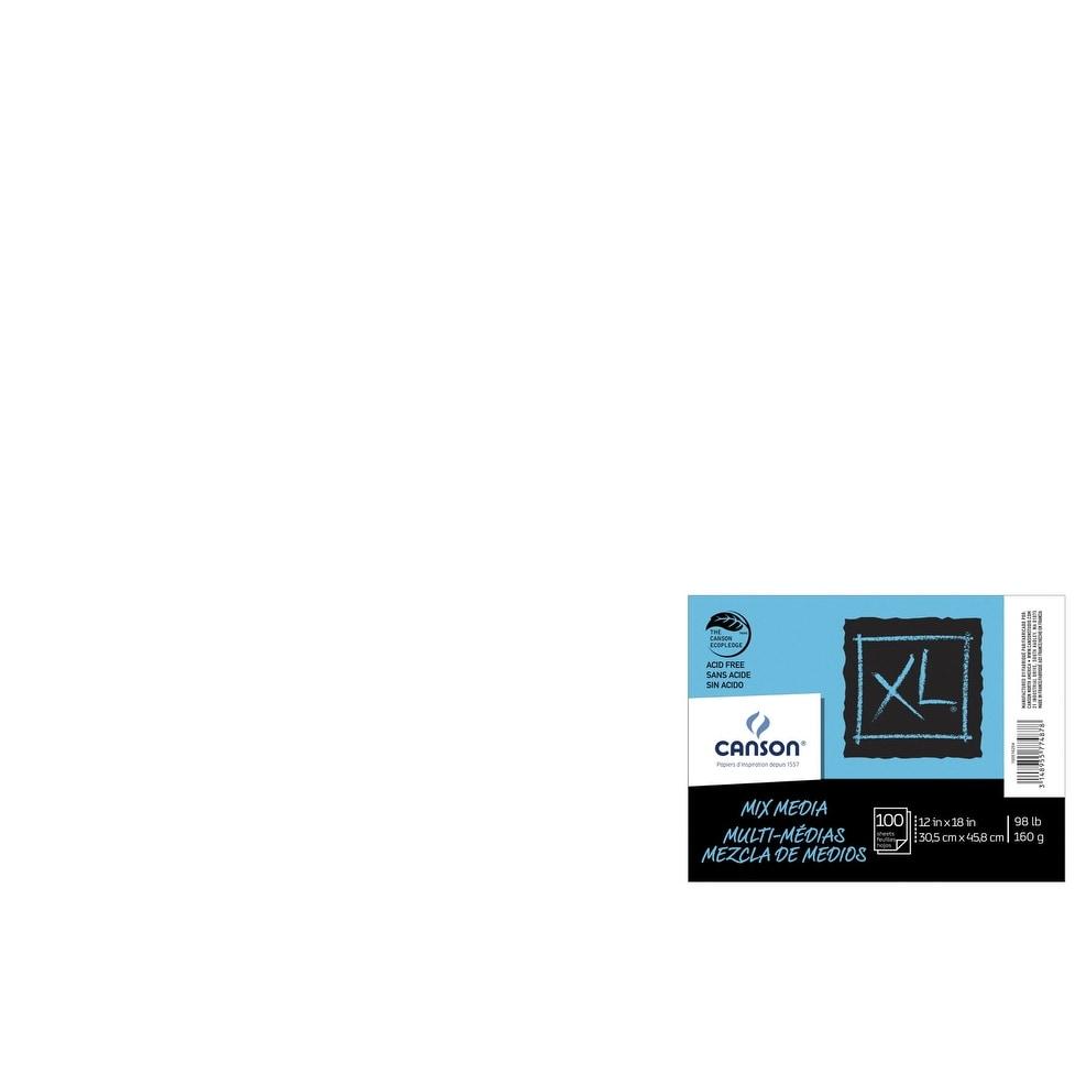 Canson XL Mix-Media Paper 98 lb 60 Sheets 9 x 12 Inches