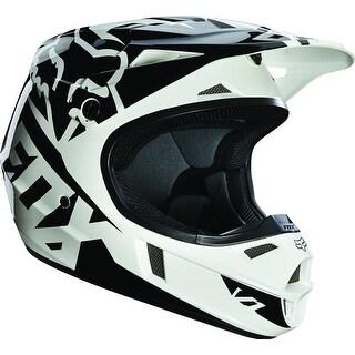 2015 Fox Racing Youth V1 Race Helmet - Black