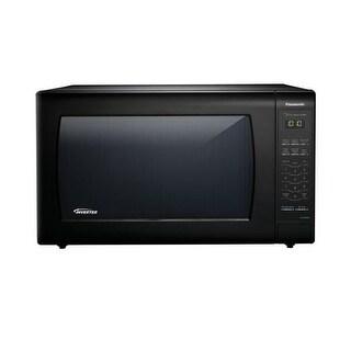Panasonic NN-SN936B 2.2 Cu. Ft. 1250W Genius Sensor Countertop Microwave Oven with Inverter Technolo - Black