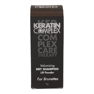 Keratin Complex Volumizing Dry Shampoo Lift Powder Brunettes for Unisex, 0.31...