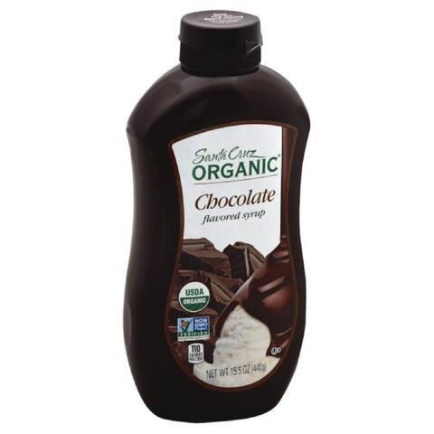 Santa Cruz Chocolate Flavored Syrup, 15.5 Oz (Pack of 6)