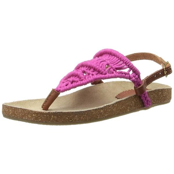 Rbls Women's Kali Crocheted Sandal - 7