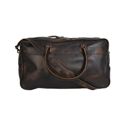 StS Ranchwear Western Bag Adult Pony Express Duffle Black - 18 W x 11 H x 9 D