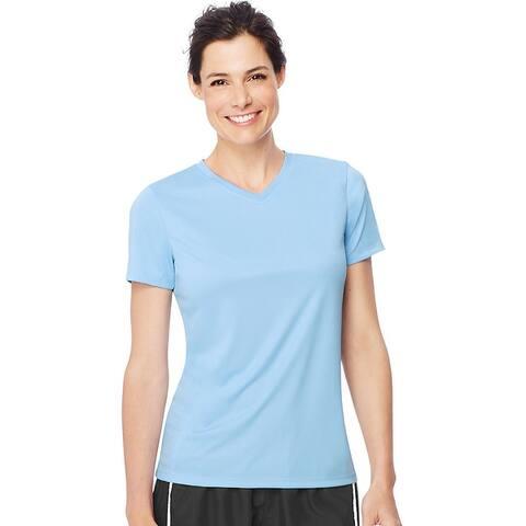 Hanes Women's Cool DRI® V-Neck T-Shirt