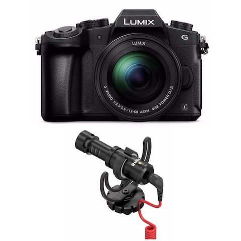 PANASONIC LUMIX G85 4K Mirrorless Camera w/ Rode VideoMicro Microphone