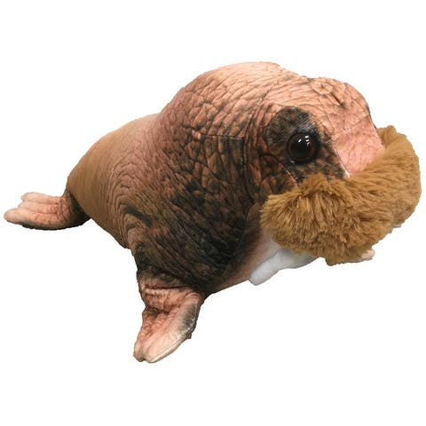 "Walrus Plush 15"" Stuffed Animal Toy"