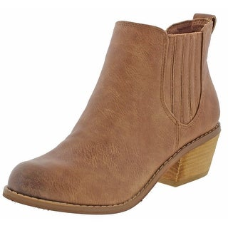 Not Rated Vixeny Women's Almond Toe Ankle Booties