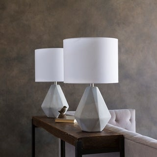 Kassidy Table Lamp with Natural Finish Concrete Base