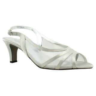 31b58810a Quick View. Was  24.99.  6.60 OFF. Sale  18.39. David Tate Womens Petal-040  Silver Ankle Strap Heels Size ...