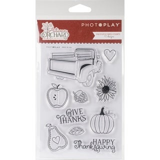 Autumn Orchard Polymer Stamps