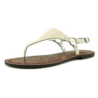 Sam Edelman Greta   Open Toe Leather  Thong Sandal