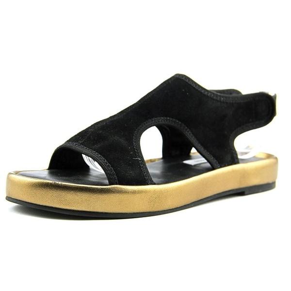 Diane Von Furstenberg Santa Fe Open-Toe Suede Slingback Sandal