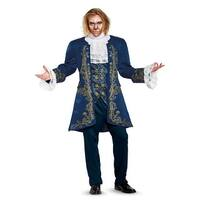 Disguise Beast Prestige Adult Costume - Blue