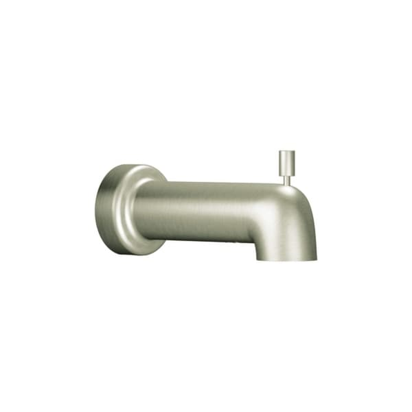 """Moen 3890 6 1/2"""" Tub Spout with 1/2"""" Slip Fit Collection from the Level Collection (With Diverter) - N/A"""