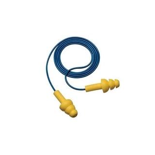 3M E-A-R UltraFit 340-4004 Corded Earplugs, 25 dB NRR