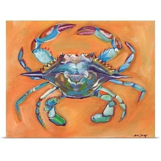 Anne Seay Poster Print entitled Blue Crab