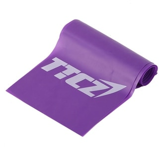 Sports Rubber Stretchy Pull up Training Assistance Resistance Band Purple