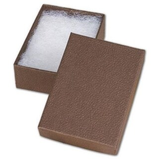 3.06 x 2.13 x 1 in. Jewelry Boxes, Cocoa