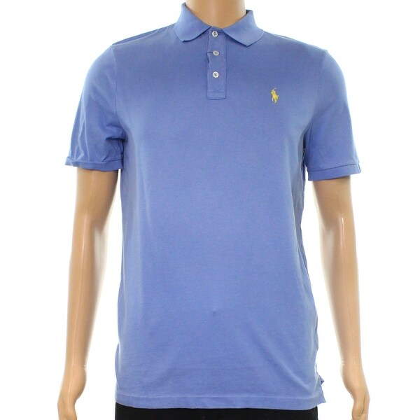 47aecc8b57 Shop Polo Ralph Lauren Blue Men Size Large L Polo Rugby Classic Fit Shirt -  On Sale - Free Shipping Today - Overstock.com - 22400983